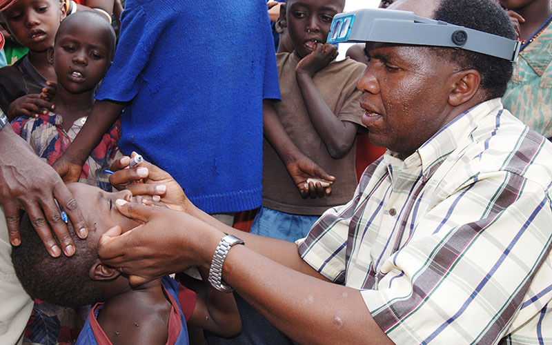 Grant Assists Optometry School in Cameroon