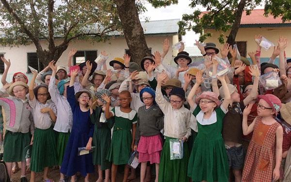 albino in africa