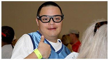 Special Olympics Opening Eyes Program
