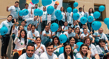 CooperVision employees Fight for Sight
